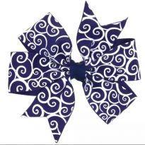 Presilha azul marinho - Sem faixa etaria - Importada