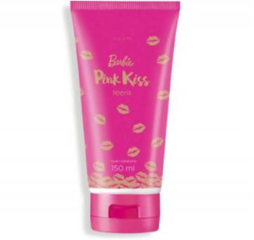 Hidratante com Glitter Barbie Pink Kiss 150g - Sem faixa etaria - avon