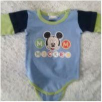 Body Mickey - 3 a 6 meses - Disney