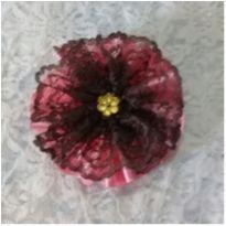 Presilha emily rosa e chocolate -  - Artesanal