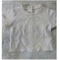 camiseta coelhinho - 3 a 6 meses - Chicco