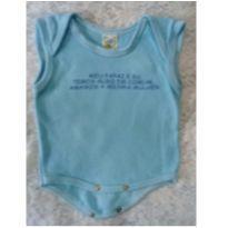 Body regata azul - 3 meses - Baby Pri