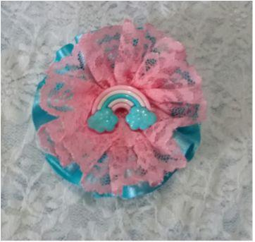 presilha emily azul e rosa - Sem faixa etaria - Artesanal