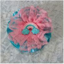 presilha emily azul e rosa -  - Artesanal