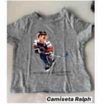 Camiseta M/C Ursinho Ralph Lauren - 9 meses - 6 a 9 meses - Ralph Lauren