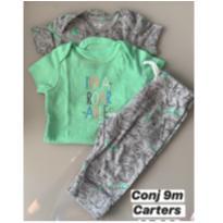Conj Carters Dino - Carter´s - 9m - 9 meses - Carter`s e CARTERS/TIPTOP/ZARA