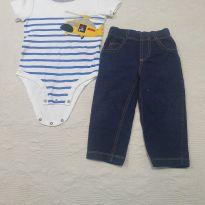 Kit calça e body 18M Carter`s - 18 meses - Carter`s