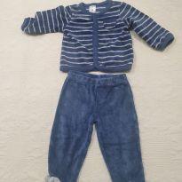 Conjuntinho calça jaquetinha 3 meses - 3 meses - Carter`s