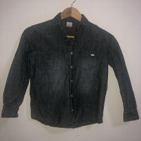Camisa jeans TAM 8 - 7 anos - PUC