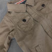 Jaqueta jeans marrom + um lindo brinde - 12 a 18 meses - Sem marca e PS baby