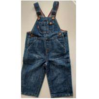 Jardineira jeans Levis 18 meses - 18 meses - Levi`s