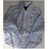 Camisa Social Tommy 6/9 meses - 6 a 9 meses - Tommy Hilfiger