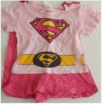 Fantasia Supergirl 1 ano - 1 ano - MARVEL
