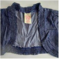 Bolero jeans curto 4/5 anos - 4 anos - Faded Glory (EUA)