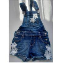 Jardineira jeans 6 anos - 6 anos - Jordache