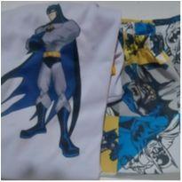 Pijama Batman 7/8 anos - 8 anos - Não informada