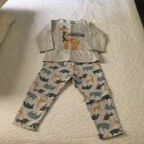 Pijama moletinho - 3 anos - Kyly