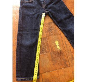 calça jeans escura infantil slim fit tamanho 3 a 4 anos h - 3 anos - H&M