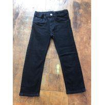 calça jeans preta tamanho 4 h&m - 4 anos - H&M
