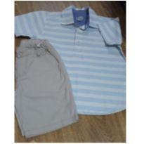 Bermuda e camisa - 4 anos - Palomino