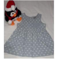 Vestido Hering Baby - 1 ano - Hering