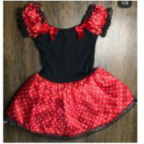 Fantasia Minnie - 3 anos - minie