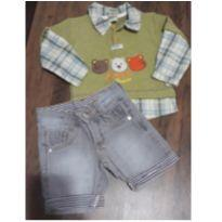 Conjuntinho de menino - 1 ano - Confecções 2001