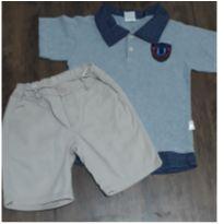 Conjuntinho menino - 4 anos - Palomino