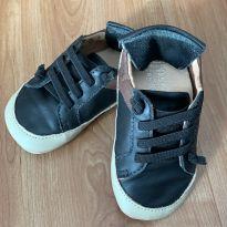 Sapato Bebê Preto - 21 - Kea
