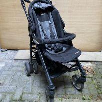 carro bebé Infanti  - Travel System Perugia Duo Onyx Infanti com isofix -  - Infanti