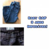 CALÇA JEANS - BABY GAP - 3 anos - Baby Gap