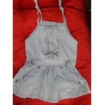 Vestido Jeans 12 a 18 meses - 1 ano - Nacional sem etiqueta