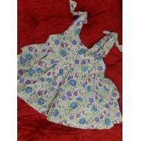 Vestido Mamãe Lua - P - 3 a 6 meses - Mamãe Lua