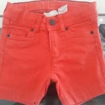 Shorts Jeans Vermelho H&M 18M - 18 meses - H&M