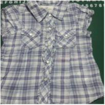 Camisa xadrex - 18 a 24 meses - H&M e H&M, Carters e C&A