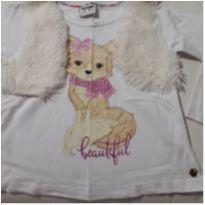 blusa xiquerrima - 3 anos - Fakini