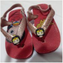 Lote chinelo e sandalia - 21 - Havaianas e Ortopé