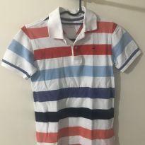 Camiseta polo - 7 anos - Tommy Hilfiger