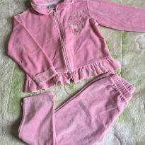 Conjunto plush Rosa - 3 anos - Anjos baby