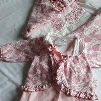 Saida maternidade maravilhosa 2 pecas - Recém Nascido - Beth Bebê