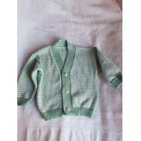 Casaquinho de lã lindinho - 3 a 6 meses - Sem marca