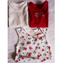 Kit com 3 body Primark baby - 3 a 6 meses - Primark