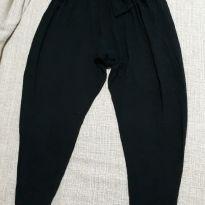 Calça saruel preta tamanho 8 anos importada - 8 anos - George