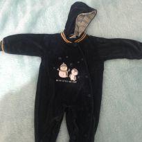 Macacão de plush - 3 a 6 meses - Anjos baby
