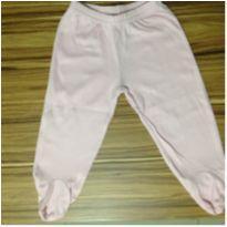 Calça com pé rosa bebê Carter`s - 3 a 6 meses - Child of Mine