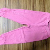 Calça com pé pink Carter`s - 3 a 6 meses - Child of Mine