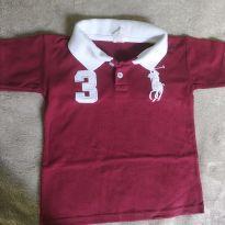 Camiseta polo - 2 anos - Sem marca