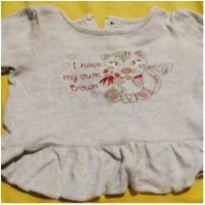 Blusa fofinha - 3 meses - Sem marca