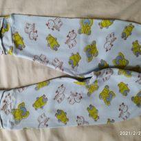Calça bichos 2 - 3 a 6 meses - BB colorido