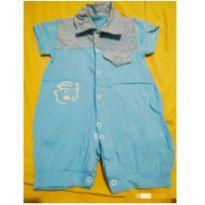 Macaquinho azul - 3 meses - Sem marca